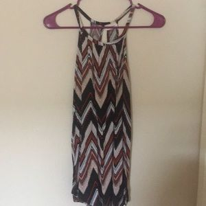 Long camisole multi colored